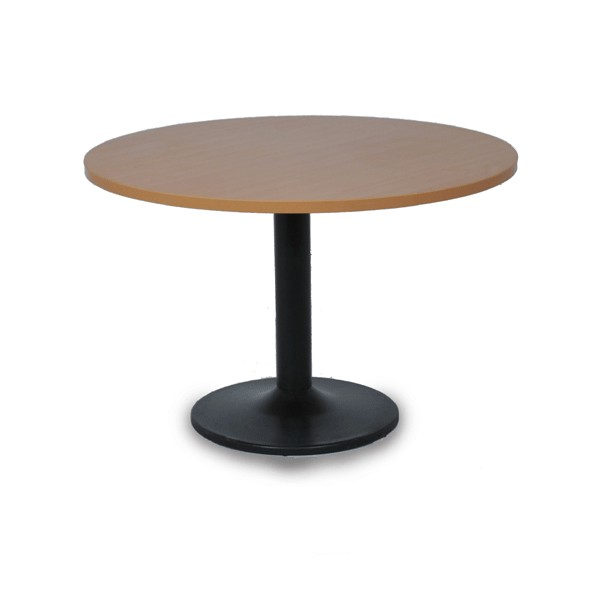 Table de r union ronde pi tement m tal for Pietement de table pliante