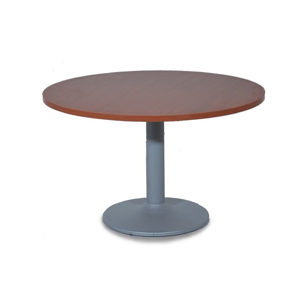 Table de r union ronde pi tement m tal for Pietement table metal