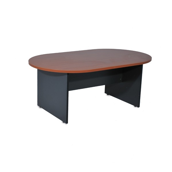 table de r union ovale pi tement bois. Black Bedroom Furniture Sets. Home Design Ideas