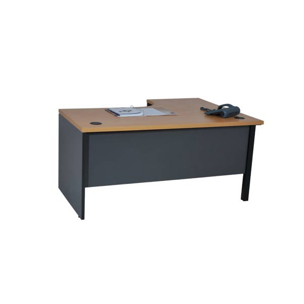 bureau compact 90 pi tement bois. Black Bedroom Furniture Sets. Home Design Ideas