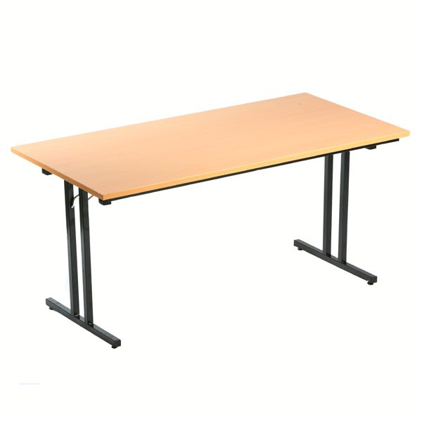 Table pliante l180 x p80 cm bureau d p t - Table epilation pliante pas cher ...