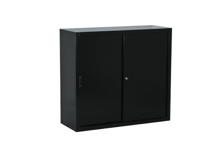 armoire basse porte coulissante bureaud p t. Black Bedroom Furniture Sets. Home Design Ideas