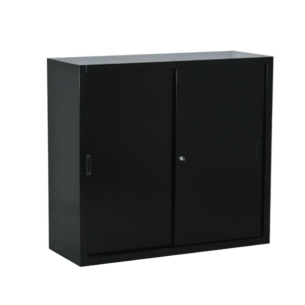 armoire basse porte coulissante. Black Bedroom Furniture Sets. Home Design Ideas
