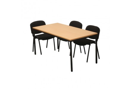 Table modulaire rectangulaire 140x70 cm