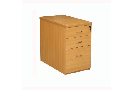 caisson hauteur bureau bois 2 tiroirs 1 dossier suspendus. Black Bedroom Furniture Sets. Home Design Ideas