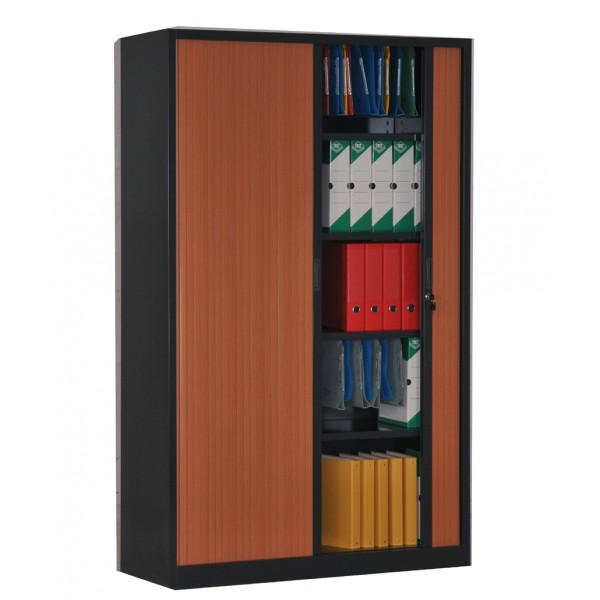 armoire rideaux monobloc h180xl100xp40 cm bureau d p t. Black Bedroom Furniture Sets. Home Design Ideas