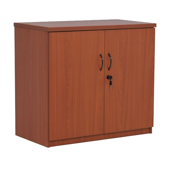 armoire basse en bois m lamin h73xl80xp45 cm bureau d p t. Black Bedroom Furniture Sets. Home Design Ideas