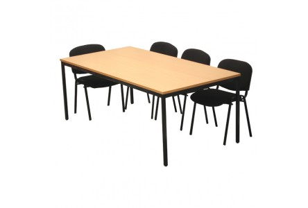 Table modulaire rectangulaire 200x100 cm